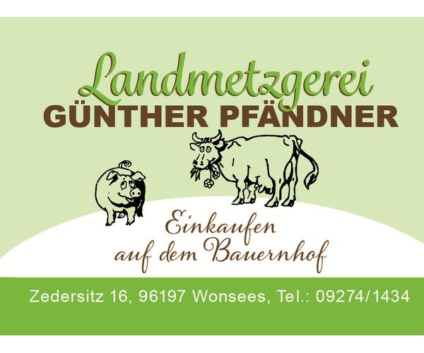 Metzgerei Günther Pfändner