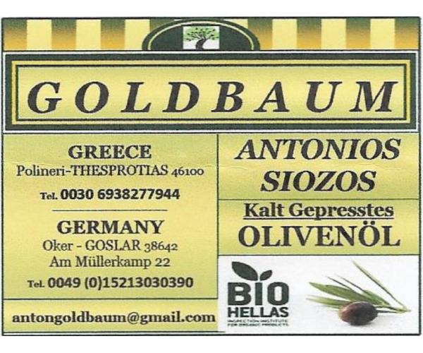 GOLDBAUM Olivenöl