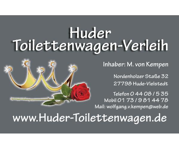 Huder Partyzelt- und Toilettenwagen-Verleih