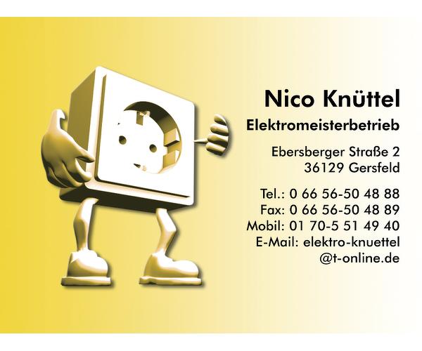 Nico Knüttel Elektromeisterbetrieb