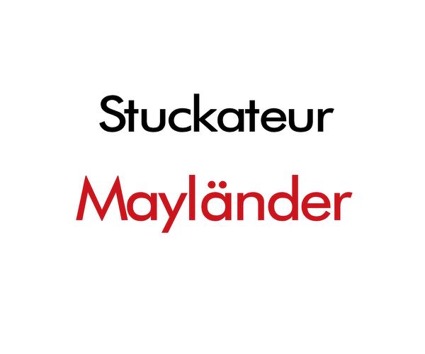 Stuckateurbetrieb Mayländer