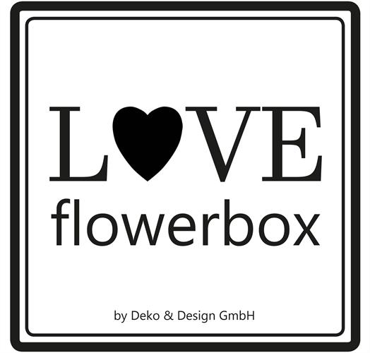 LOVE flowerbox