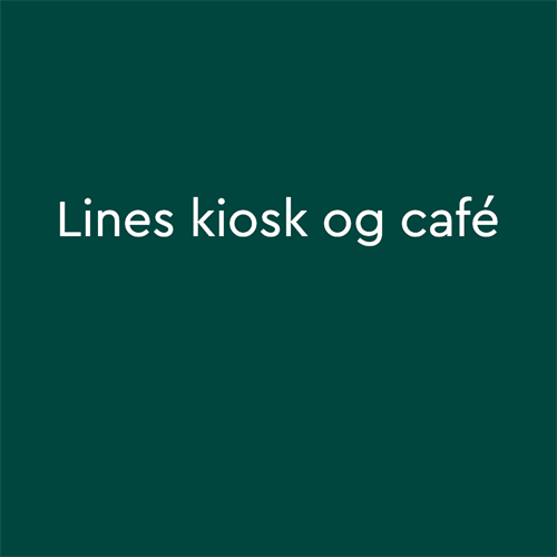 Line's kiosk og Cafe