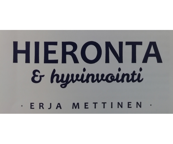Hieronta & Hyvinvointi Erja Mettinen
