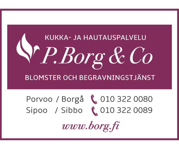Kukka-ja Hautauspalvelu P.Borg