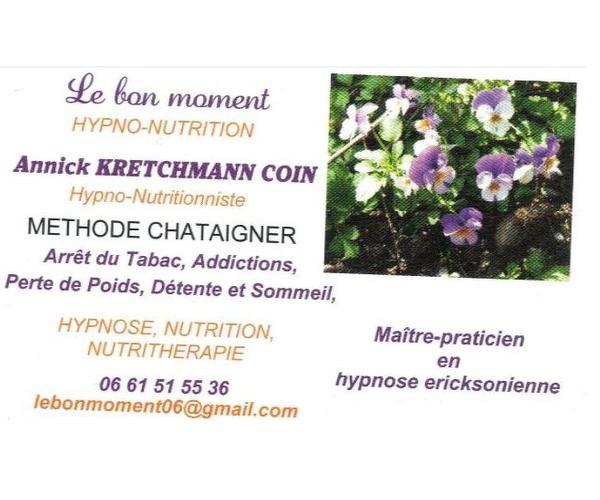 LE BON MOMENT - Practicienne Hypno-Nutritionniste