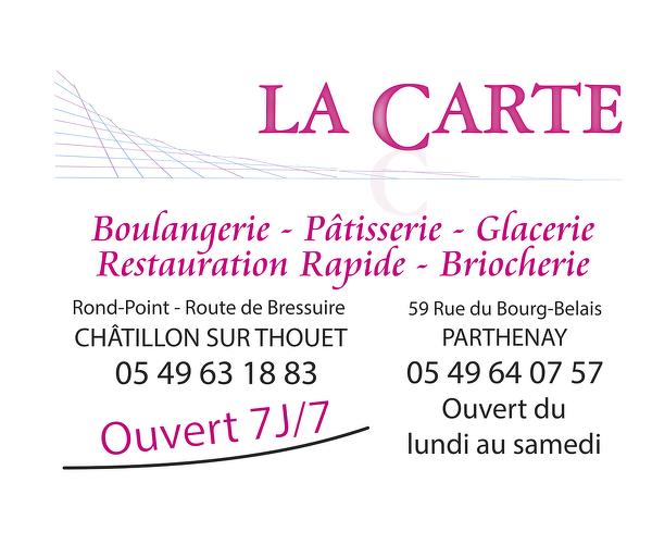 Boulangerie LA CARTE