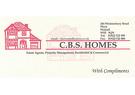 CBS HOMES