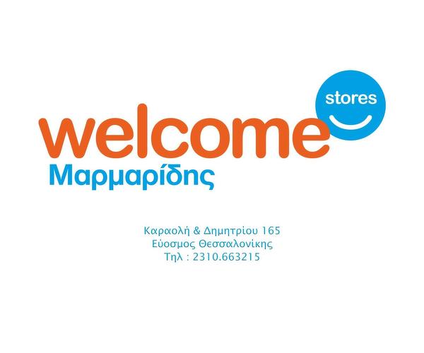 Welcome Stores -Μαρμαρίδης