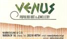 VENUS Popular Art & Jewellery