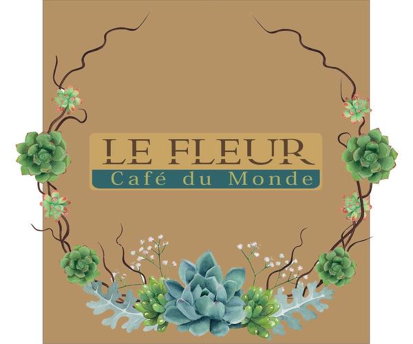 LE FLEUR Cafe du Monde