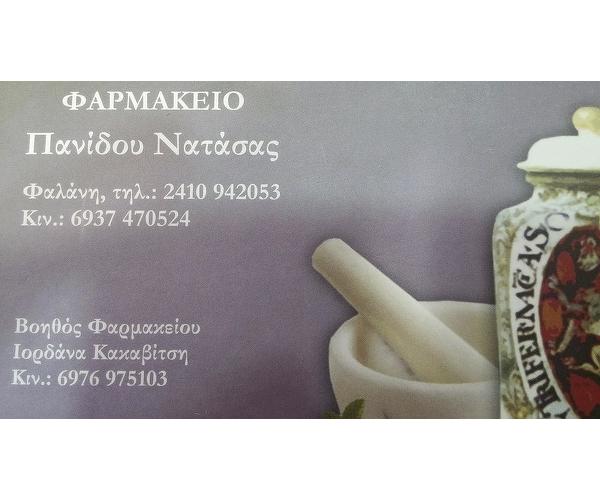 Φαρμακείο Νατάσα Πανίδου
