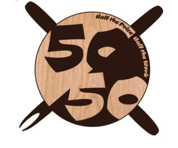 Μezedopolio 50-50