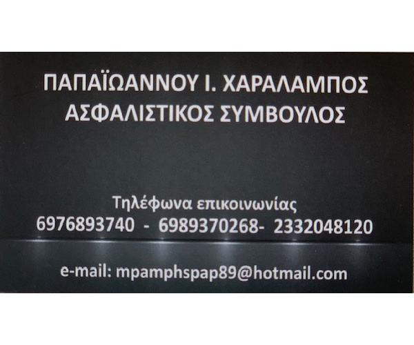 Papaioannou Asfalistikos Simvoulos