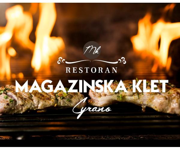 Restoran Cyrano by Magazinska Klet