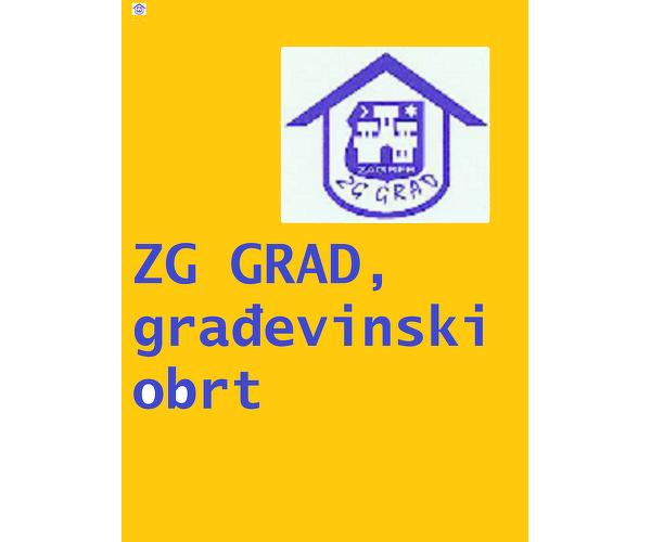 ZG GRAD,  građevinski obrt