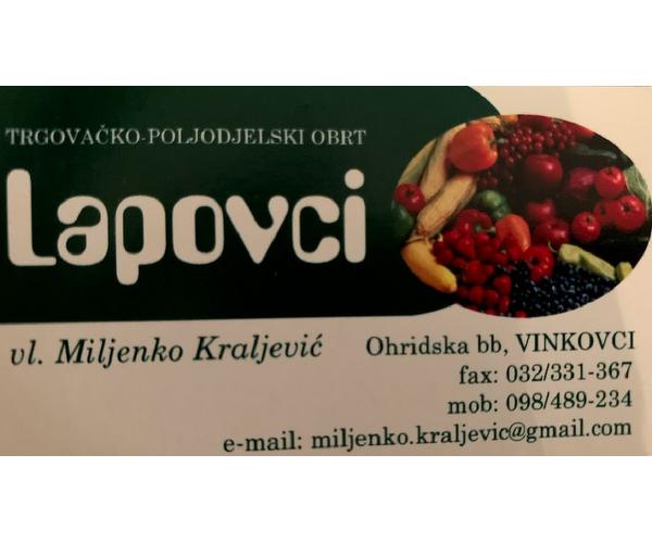Prodaja voća i povrća LAPOVCI