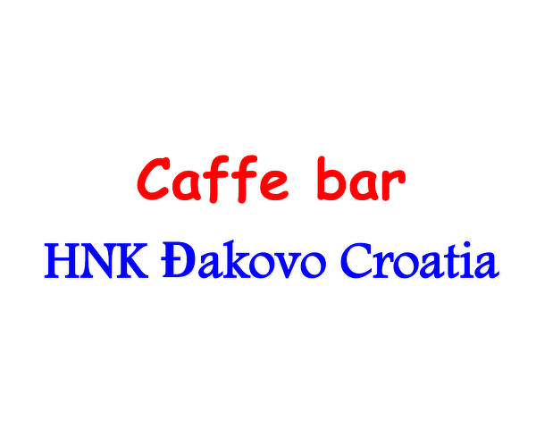 Bistro HNK Đakovo Croatia