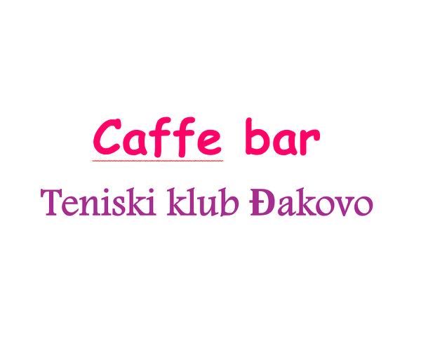 Caffe bar teniski klub Đakovo