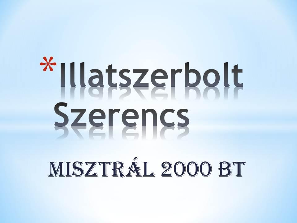 Illatszerbolt Rákóczi 108.