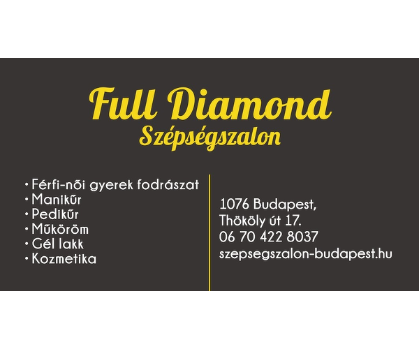 Full Diamond Szépségszalon