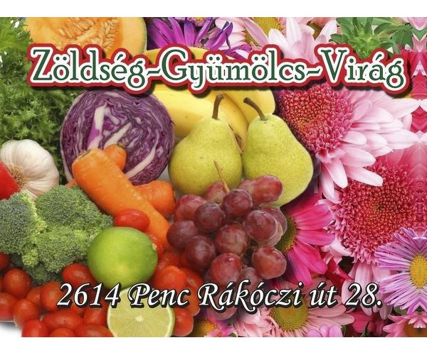 Zöldség-Gyümölcs-Virág üzlet