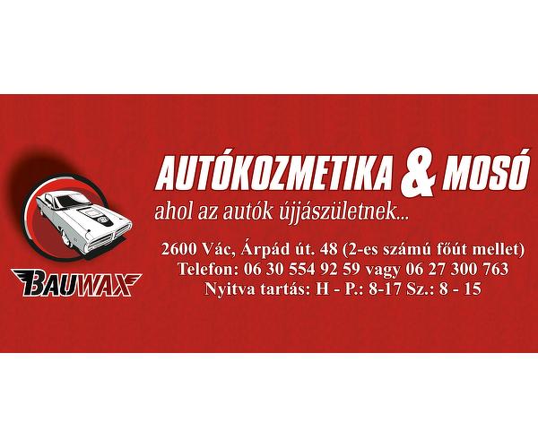 BAUWAX Autókozmetika & Mosó