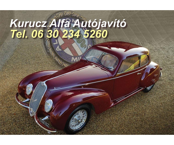 Kurucz Alfa Autójavító