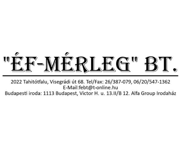 ÉF-MÉRLEG Bt.