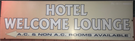 HOTEL WELCOME LOUNGE