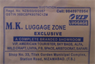 MK LUGGAGE ZONE EXCLUSIVE