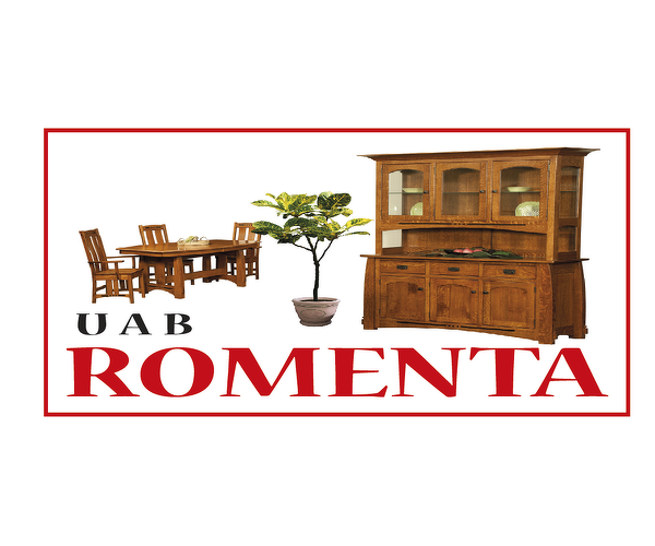 Baldų parduotuvė - Romenta