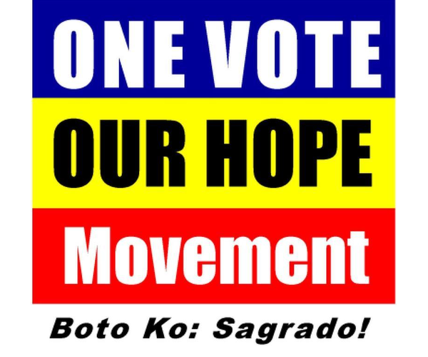 One Vote - Our Hope Movement, Inc.