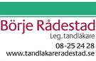 Tandläkare Börje Rådestad