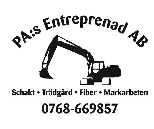 PA :s Mark o Schakt Entreprenad AB