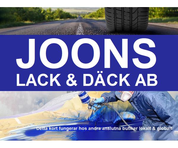 JOONS Lack & Däck