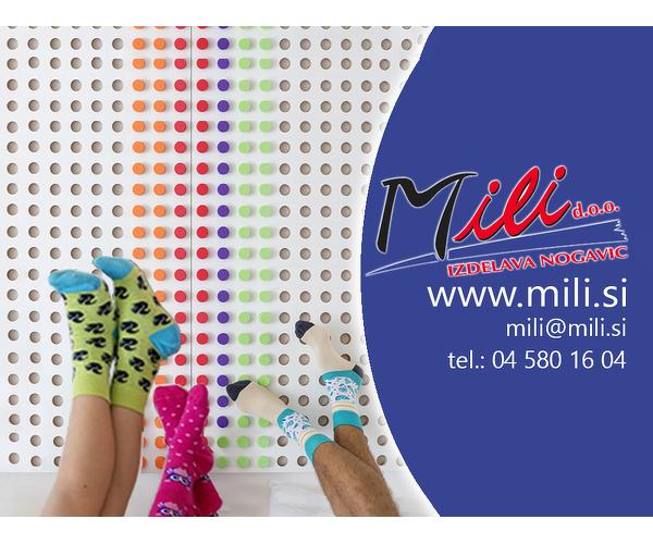Mili - izdelava nogavic