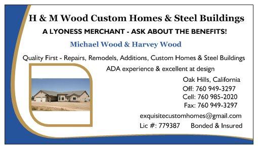 H&M Wood Custom Homes