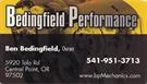 Bedingfield Performance