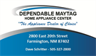 Dependable Maytag Center