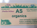 Aspen Stitchworks Organics