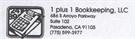 1 Plus 1 Bookkeeping