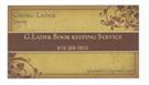 Georg Ladek Bookkeeping