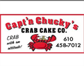 Capt'n Chucky's Crab Cake