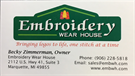 Embroidery Wear House
