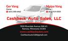Cashback Auto Sales, LLC