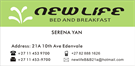 New Life Bed & Breakfast