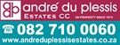 Andre Du Plessis Estates