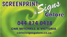 Screenprint & Signs Galore