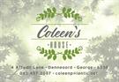 COLEEN'S HOUSE